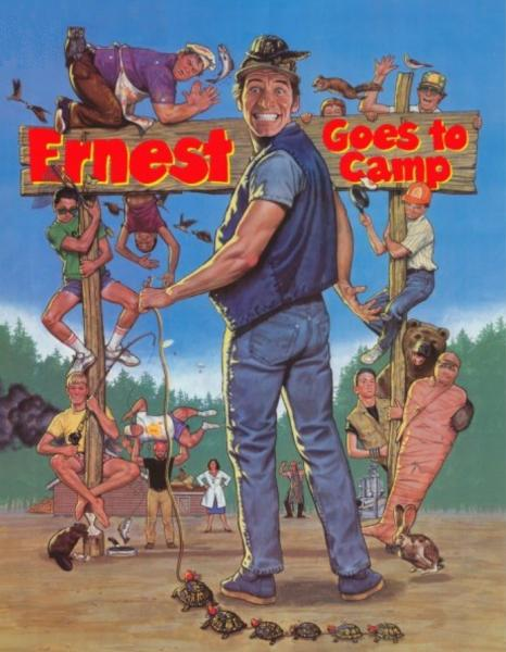 Scott menville ernest goes to camp