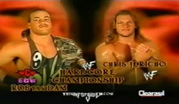 Match of the Week #36   Rob Van Dam vs Chris Jericho